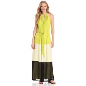 Vince Camuto Color Block Maxi Dress